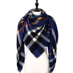 Gift 💝 Plaid Blanket Scarf